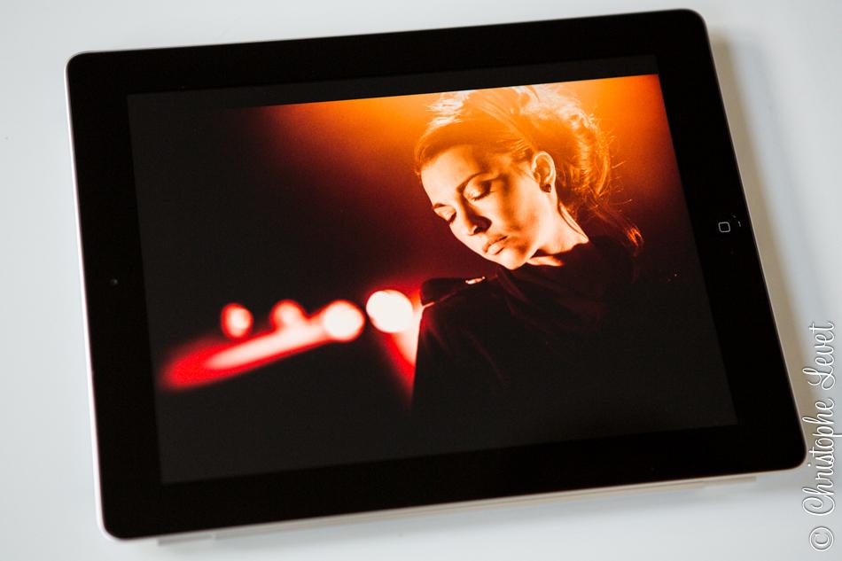 La qualité des photos sur l'iPad est tout simplement bluffante!! N'oubliez pas des les importer à 4096 pixels de longueur!!