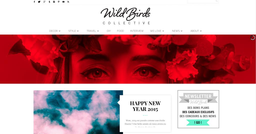 Le blog Wild Birds Collective