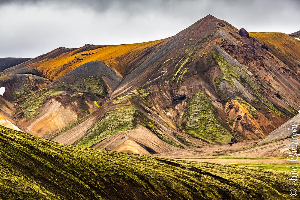 photographie de landmannalaugar en Islande
