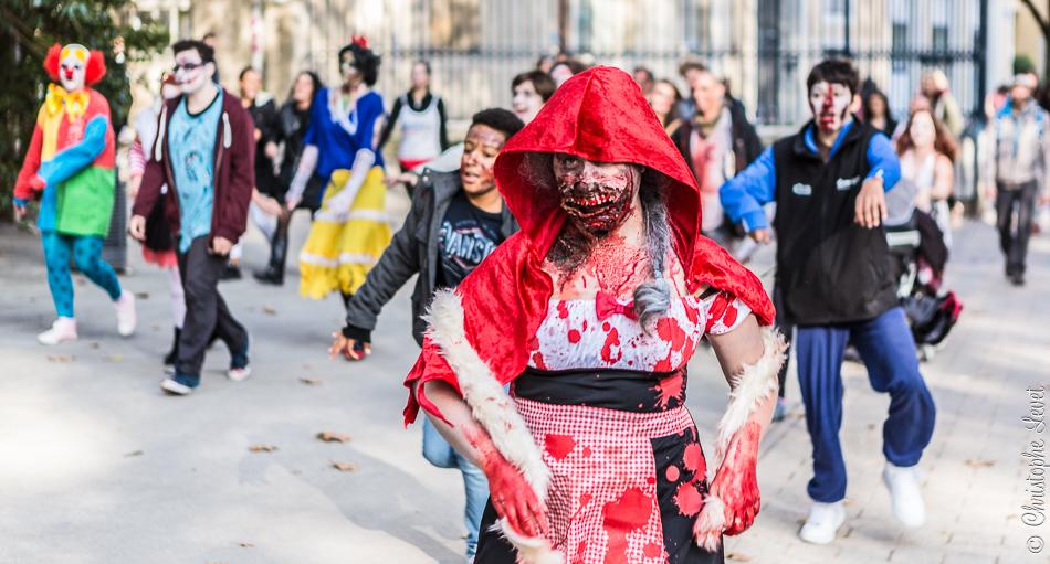 Le Chaperon rouge zombie