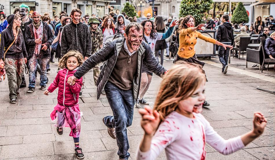 Les zombies à Grenoble