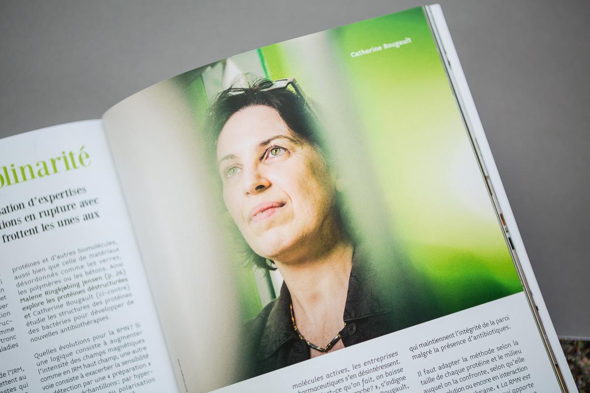 Portrait de Catherine Bougault pour le CEA