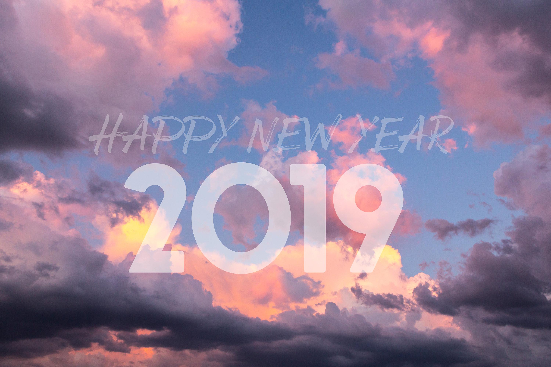 Bonne année 2019 par le photographe Christophe Levet