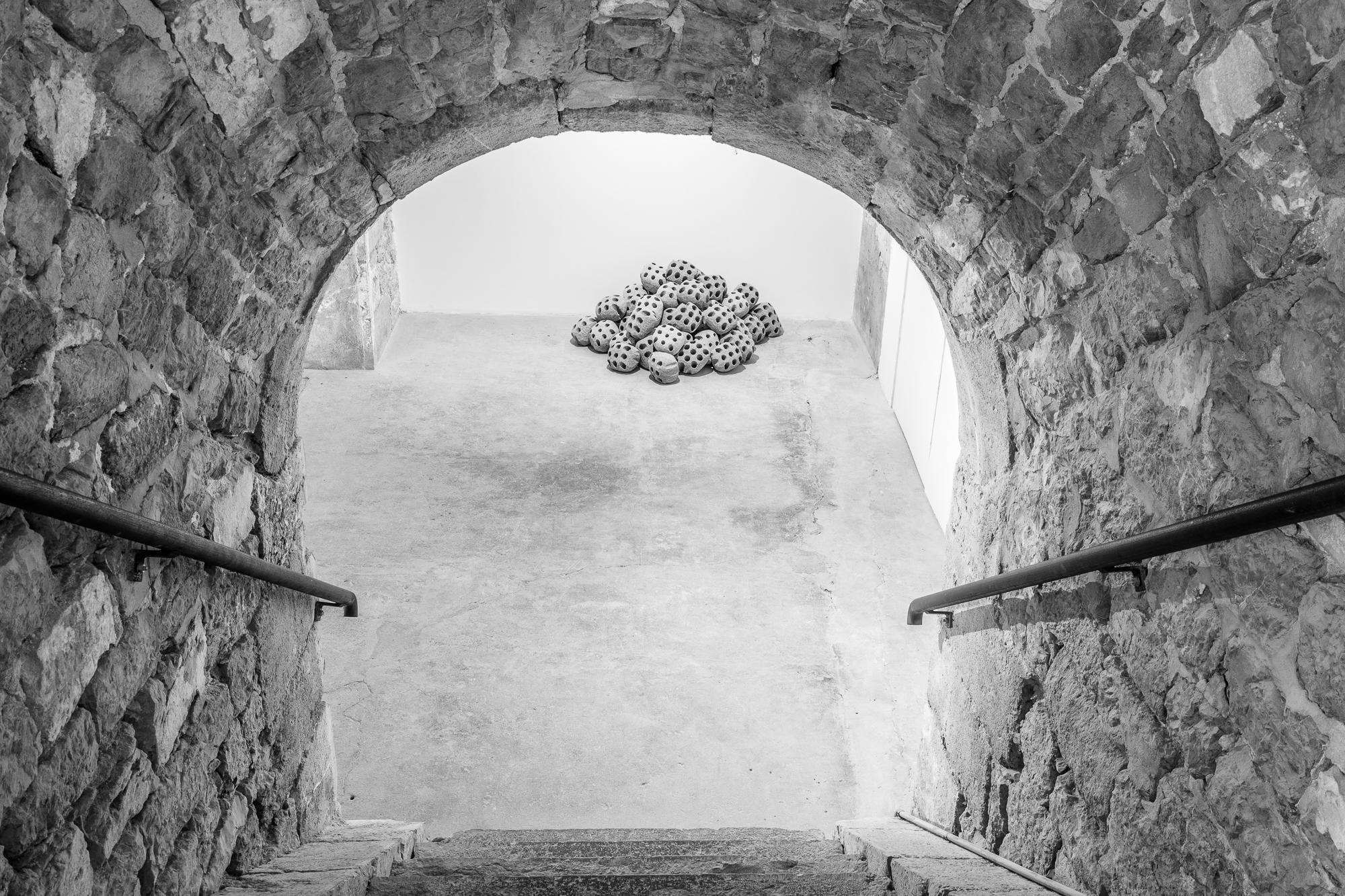 Une des oeuvres de l'exposition de Vincent Mauger à Grenoble
