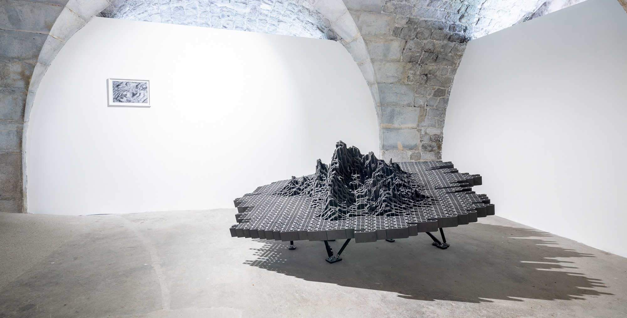 Oeuvre de l'exposition terrains incertains à Grenoble